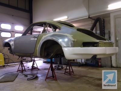 Tuthill Porsche 911 RSR Steel Arches 3