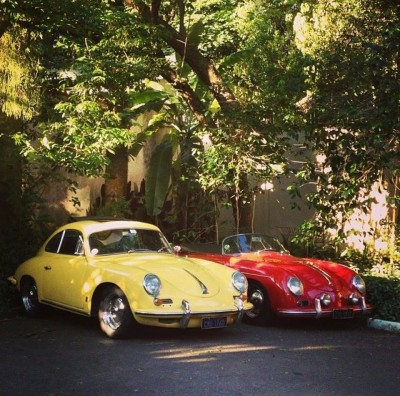 Ferry Porsche Personal 356 Speedster found in Brazil