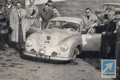 Remembering Portugal's Porsche 356 Rally Hero