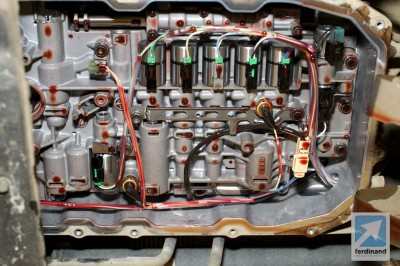 Porsche Cayenne Valve Body Transmission Recon Ferdinand