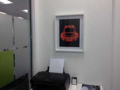 Ferdinand Porsche Jagermeister 934 Print