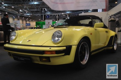 Porsche 911 Speedster: Essen Techno Classica