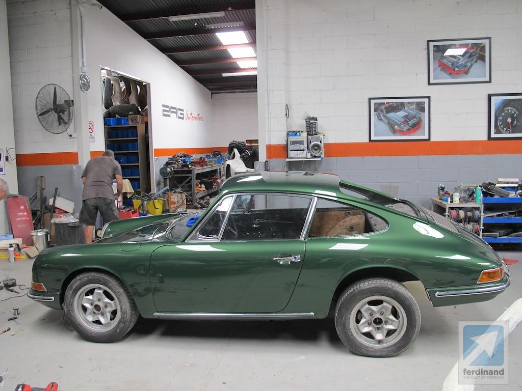 Porsche 911 Restoration Australia 911l Down Under