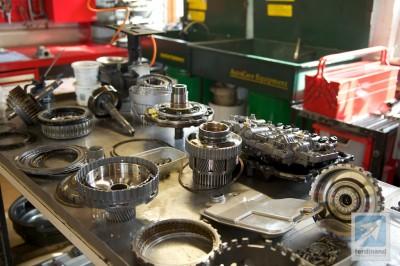 Porsche Cayenne Gearbox Rebuild Transmission Ferdinand