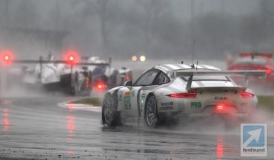Porsche 911 RSR WEC Silverstone: Wet 1-2
