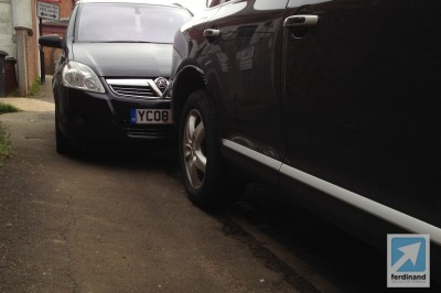 Porsche Cayenne crash bodywork damage (1)