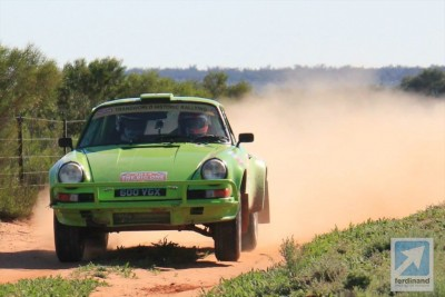 Two Porsche 911s in Sydney-London rally Top 5
