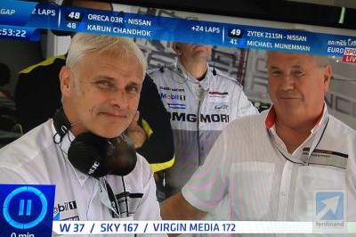 Matthias Muller Porsche CEO Le Mans