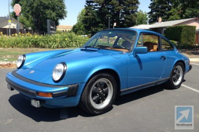 Porsche 911S impact bumper project Ferdinand