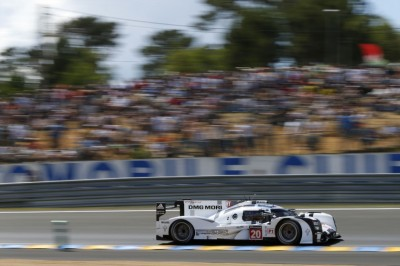 Porsche retakes lead at Le Mans