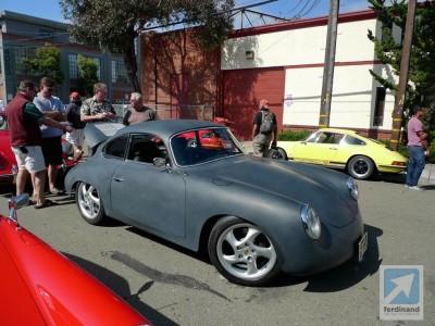 Ferdinand Porsche 356 outlaw hot rod 4