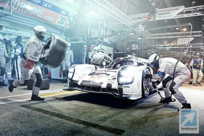 Michelin Porsche Le Mans video (1)