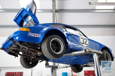 Silverstone Classic Porsche 911 Preparations