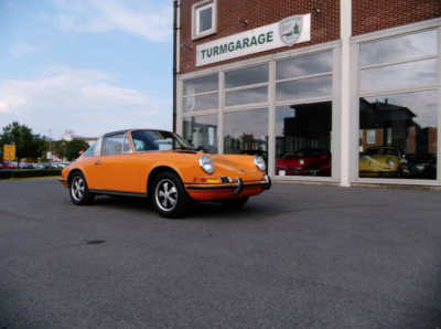 Porsche 911 T Targa for sale Signal Orange 1
