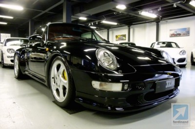 Porsche 993 Turbo S collector car JZM