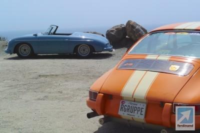 US Porsche 911 ST & Wolfgang Porsche 356