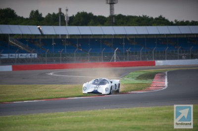 Silverstone Classic Historic Racing 2014 Chevron