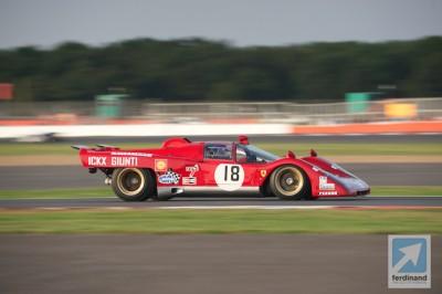 Silverstone Classic Historic Racing 2014 Ferrari 512M