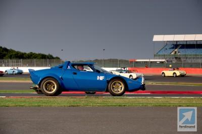 Silverstone Classic Historic Racing 2014 Lancia Stratos