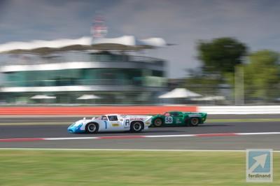 Silverstone Classic Historic Racing 2014 Lola