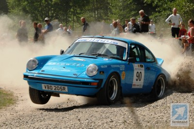 Tuthill Porsche rally win Sweden 4