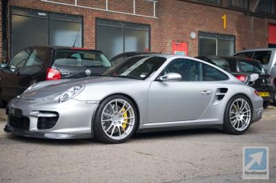 Manthey M600 Porsche 997 GT2 drive