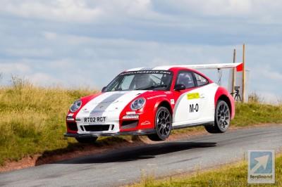 Porsche 911 FIA WRC rally car RGT GT3 Tuthill 4