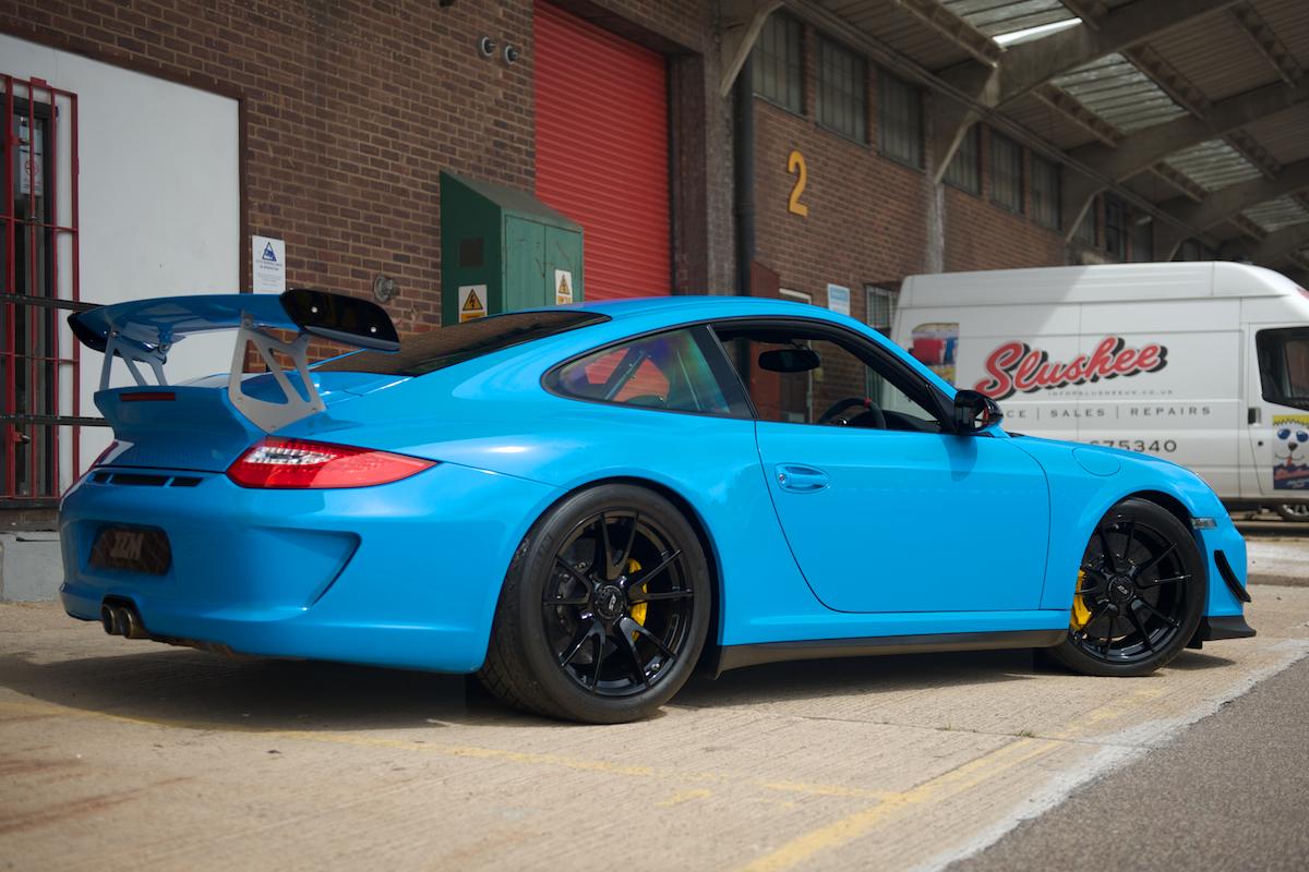Mexico Blue Porsche 997 Gt3 Rs 4 0 New Record Price Ferdinand