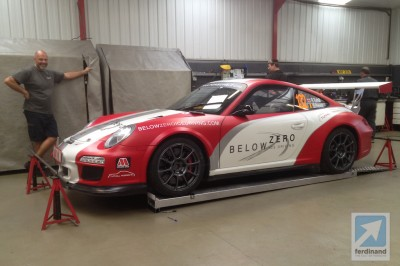Tuthill Porsche 997 RGT on WRC Germany
