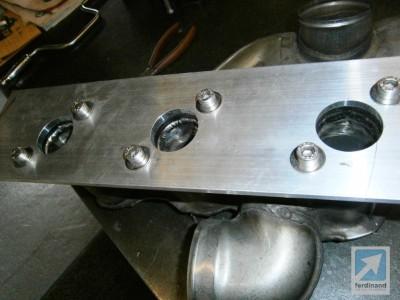 titanium exhaust porsche 993