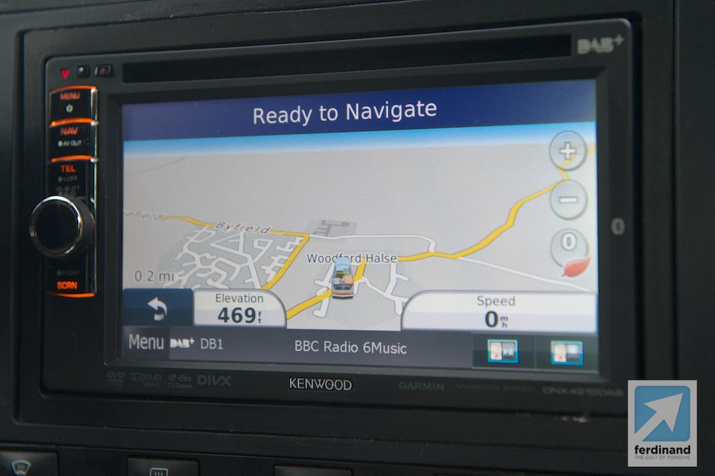 Porsche Cayenne Upgrade PCM: GPS iPhone Bluetooth - Ferdinand
