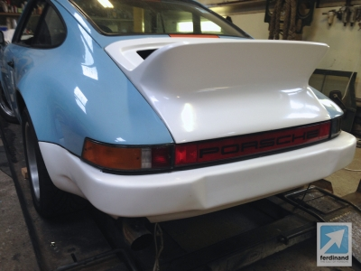 Modified Classic Retro Porsche 911 SC Gulf SC RS bumpers 3