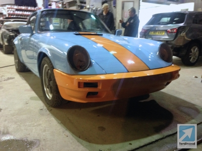 Modified Classic Retro Porsche 911 SC Gulf SC RS bumpers 8