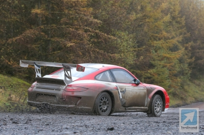 Tuthill Porsche RGT WRC gravel test 1