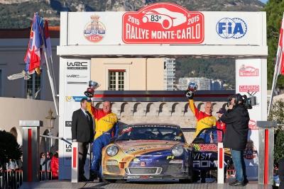 Francois Delecour Tuthill Porsche Monte Carlo 2