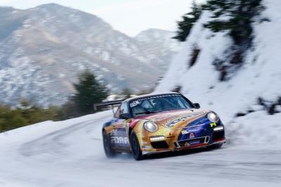 Francois Delecour Tuthill Porsche Monte Carlo 4