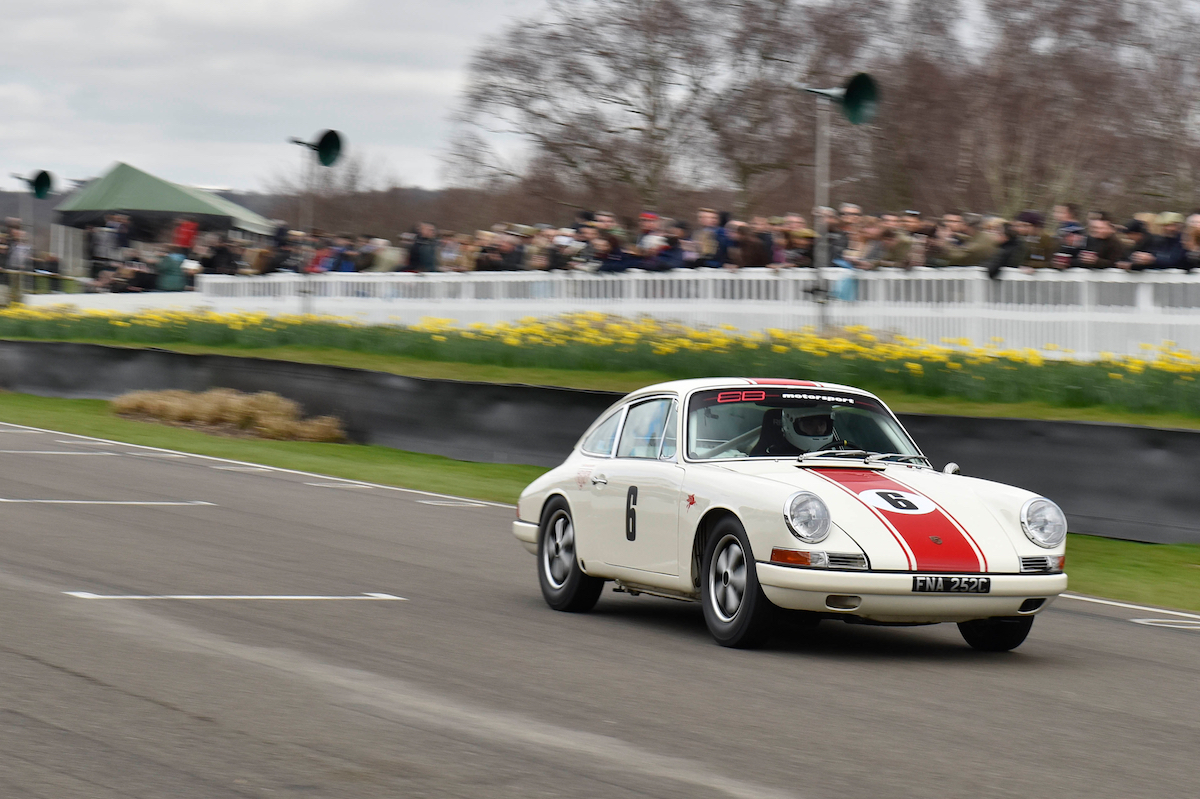Eb Motorsport 1965 Porsche 911 Takes Second At Goodwood