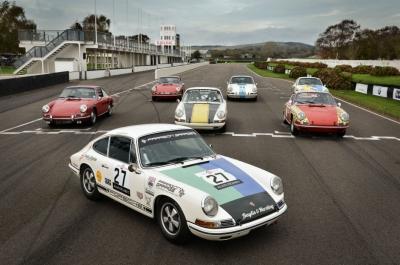 Porsche 911 SWB racing Goodwood 1