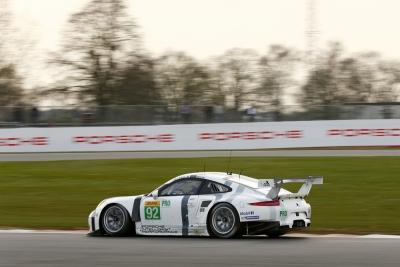 Porsche 911 RSR Silverstone 2