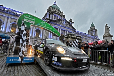 Tuthill Porsche Circuit of Ireland Start by Andre Lavadinho