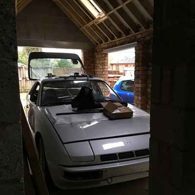 Porsche 924 Turbo restoration 2