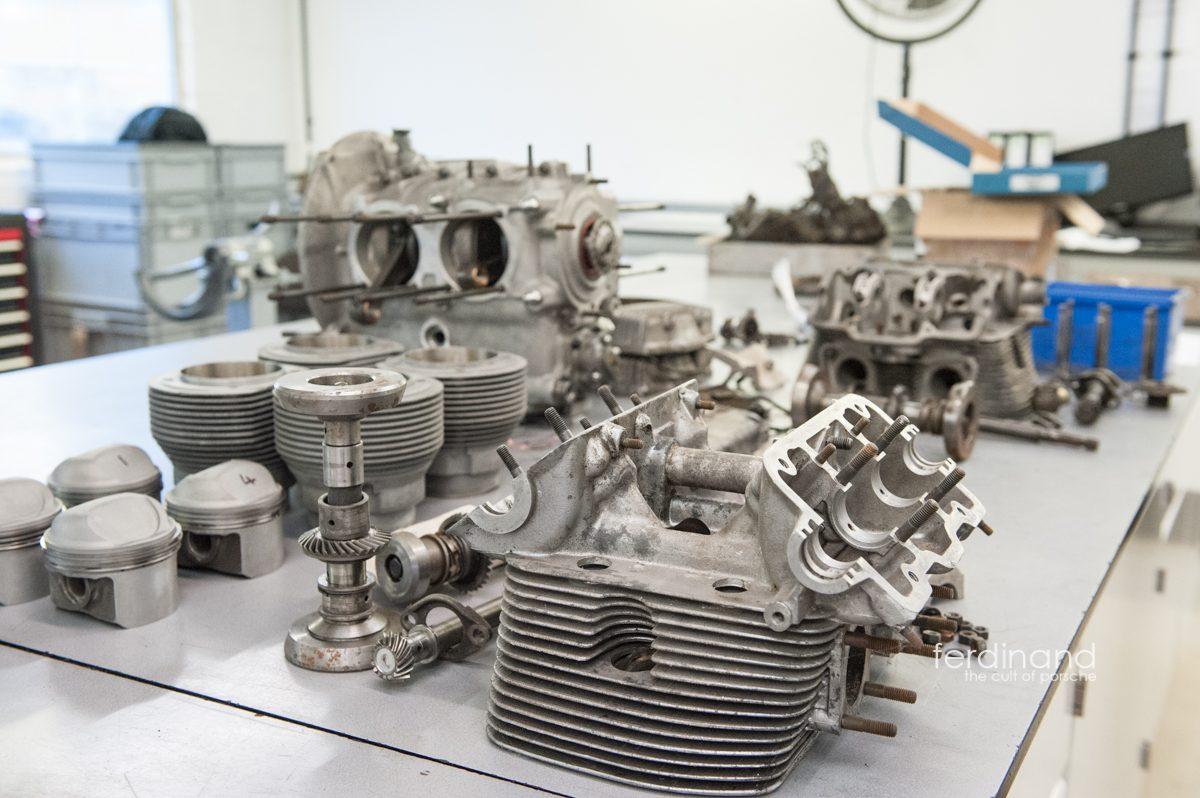 porsche 4-cam engine stripdown - ferdinand  ferdinand magazine