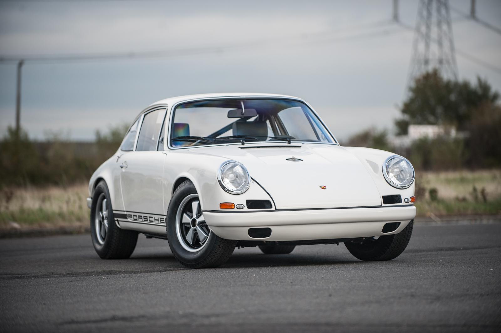 Eb Unveils Porsche 911r 50th Anniversary Celebration
